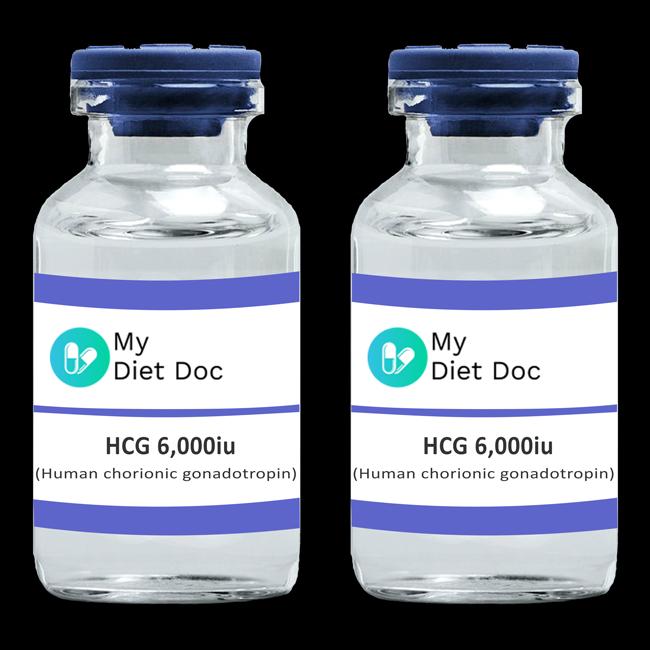 HCG (Human Chorionic Gonadotropin) 2 X 6,000iu