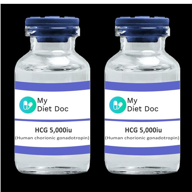 HCG (Human Chorionic Gonadotropin) 2 X 5,000iu